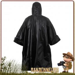 Poncho de protection contre la pluie pour la randonnée, le trek, et le bushcraft. Poncho léger pour randonner ou marcher.