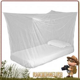 Moustiquaire imprégnée TOURER Highlander imprégnée perméthrine anti insectes moustiques pour une 1 personne