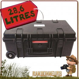 Valise Urikan XPLOR 28 Litres étanche pour le transport et protection d'équipement en conditions extrêmes