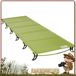 Lit Pliant thermarest LUXURYLITE Ultralite Cot Reflect Large de bivouac léger pour le trek et campement nomade