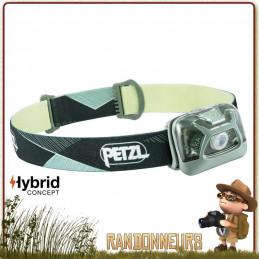 Lampe Frontale hybrid PETZL Tikka Verte légère (82 g) éclairage de proximité et déplacements courts. 300 lumens.