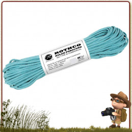 Paracorde Rothco TURQUOISE 15 mètres