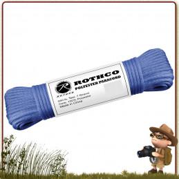bobine tressage bracelet Paracorde Polyester 30 m Rothco Bleu Royal