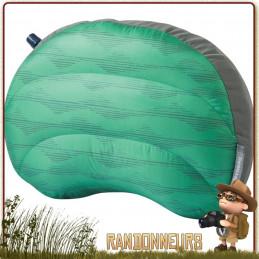 Oreiller Duvet Air Head Gonflable Thermarest ultra leger de voyage garnissage duvet d'oie confort luxe