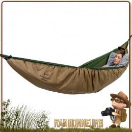 Couette Underquilt Poncho Amazonas pour se protéger du froid en hamac jungle ou comme poncho couverture chaude