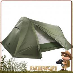 Tente Lightent 3 PRO FERRINO Verte pour randonner bivouac bushcraft leger cyclotourisme