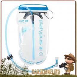 Poche Eau hydratation BIG ZIP EVO 2L Platypus de randonnée cyclotourisme et vtt