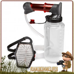 filtre eau portable randonner léger HyperFlow MSR ensemble complet de filtration eau potable débit  3 Litres par minute