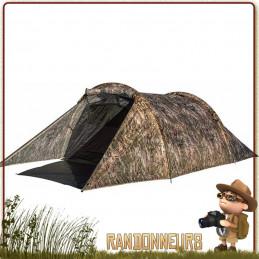 Tente Blackthorn 2 camo Highlander, 2 deux places 3 trois saisons profilée robuste au vent idéale en opex militaire