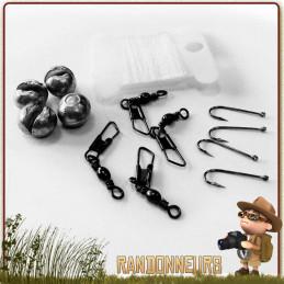Mini kit de pêche pour parfaire votre paquetage de survie ou votre kit EDC pour improviser une ligne de pêche