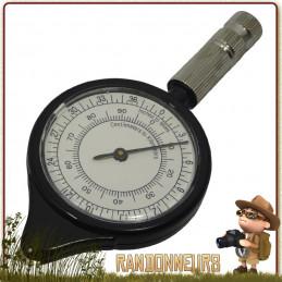 Curvimètre CAO - Instrument de mesure pour la navigation randonnée, le curvimètre affiche la distance et le kilométrage exact