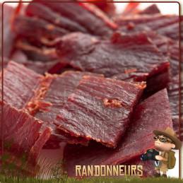 Viande de DINDE séchée au Paprika Conower Viande séchée, sachet de 25 grammes, de viande de dinde déshydratée