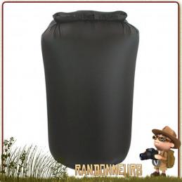 Sac Nylon Etanche 8 Litres NOIR Highlander de protection de votre équipement de randonnée