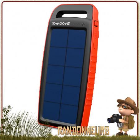 Chargeur Solaire Batterie Solargo Pocket 15000 X-Moove