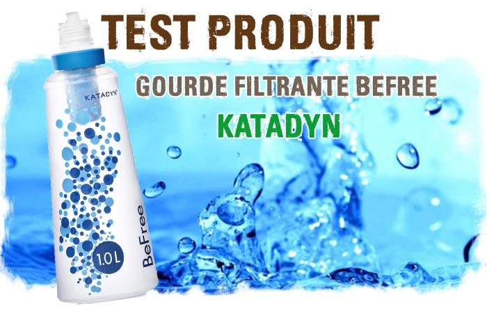 gourde filtration befree katadyn