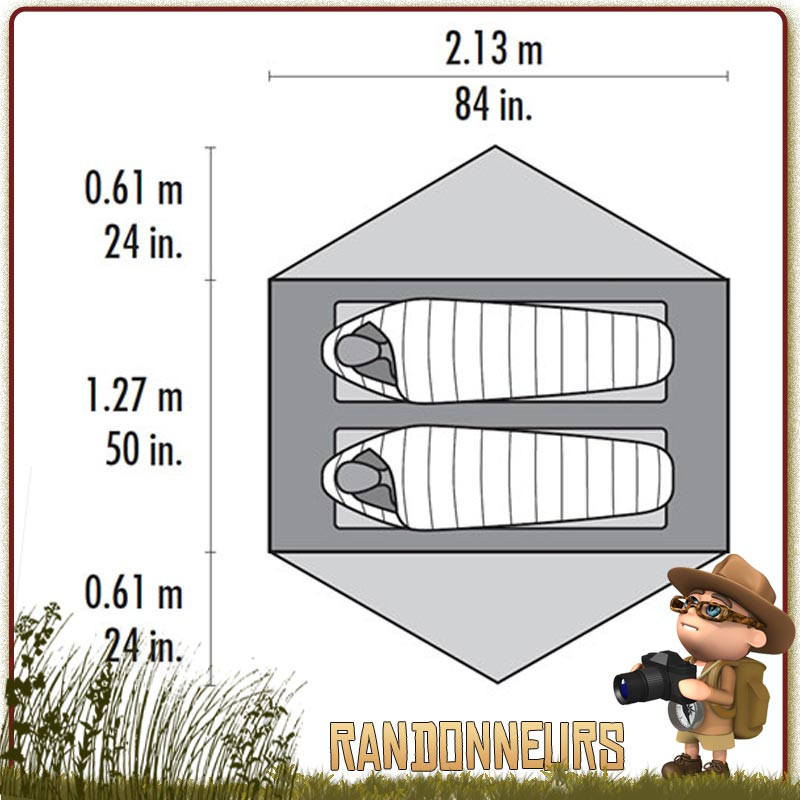 Tente randonnée ultra légère MSR, comparer les tentes MSR pour choisir au meilleur prix votre tente MSR