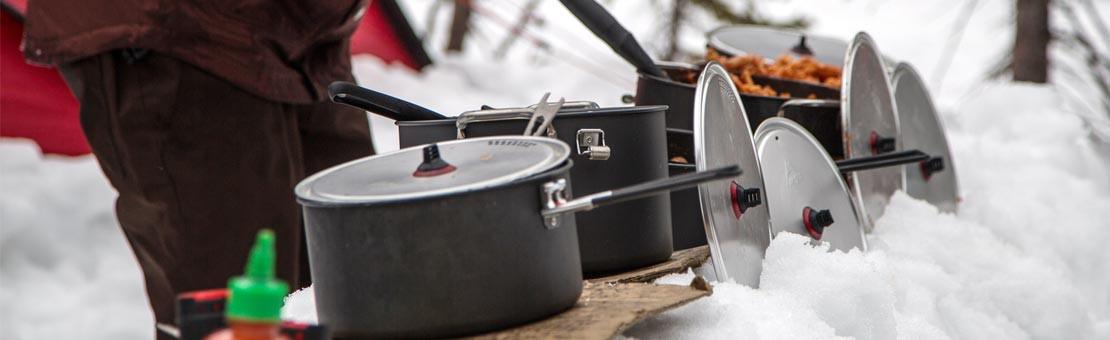 La cuisine de trekking, toue la vaisselle pour randonner